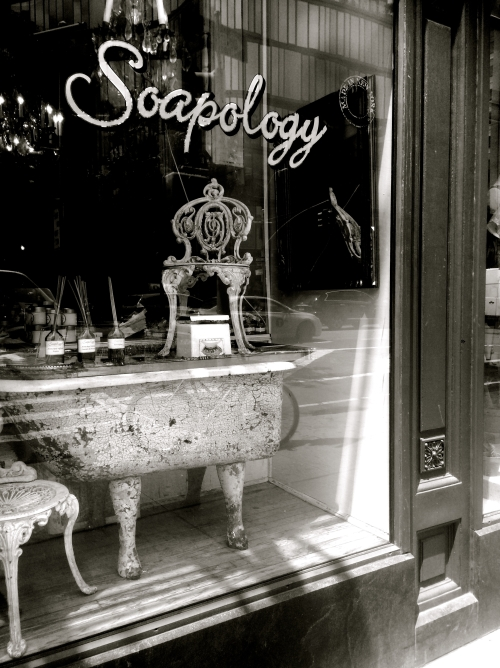 West Village, Soapology, b&w
