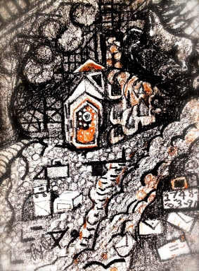 Abandoned North House--Rebecca Pyle--II