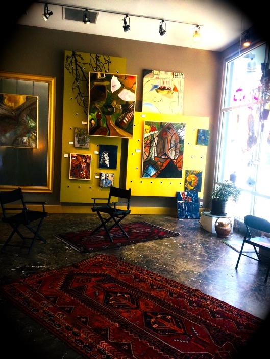 Rio Grande Street Studio Rebecca Pyle