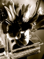 The Mother's Day Bouquet, b&w