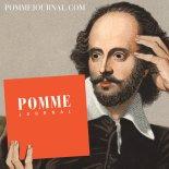 Pomme lit journal (Shakespeare, reading)