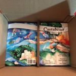 Castabout journals, first issue, in box