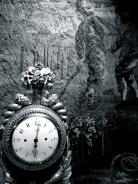 Tapestry, Ornate Clock, in Hotel