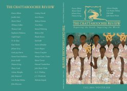 The Chattahoochee Review