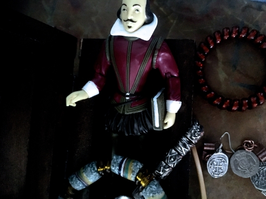 The Small Plastic Figure of Shakespeare