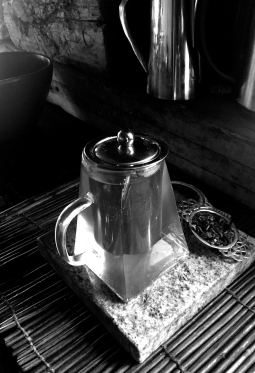 The Clear Glass Teapot