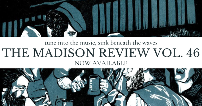 Madison Review vol. 46 cover, advertisement